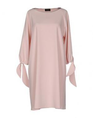 Короткое платье MALAICA. Цвет: светло-розовый