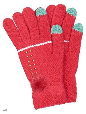 Сенсорные перчатки Punta. Цвет: фуксия