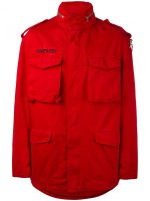 Куртка M65 Ambush. Цвет: красный