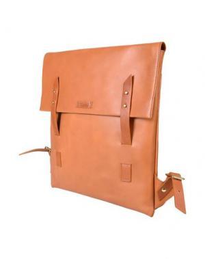 Рюкзаки и сумки на пояс MIANSAI. Цвет: желто-коричневый