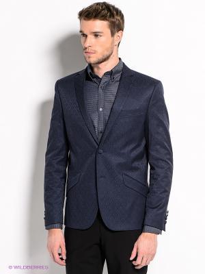 Пиджак SELECTED. Цвет: темно-синий