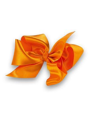 Бант Perlitta. Цвет: оранжевый