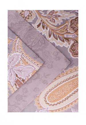 Комплект постельного белья Евро Bellehome. Цвет: фиолетовый