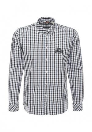 Рубашка Lonsdale. Цвет: серый