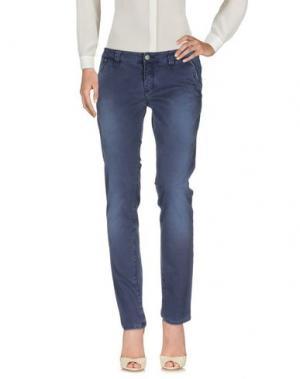 Повседневные брюки HEAVY PROJECT. Цвет: темно-синий