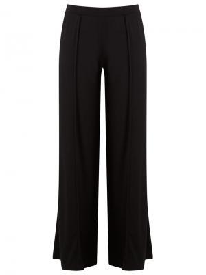 Широкие брюки Lygia & Nanny. Цвет: чёрный