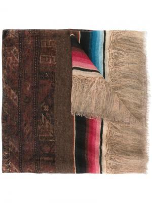 Кашемировый шарф Note Pierre-Louis Mascia. Цвет: многоцветный