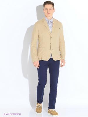 Пиджак Finn Flare. Цвет: бежевый