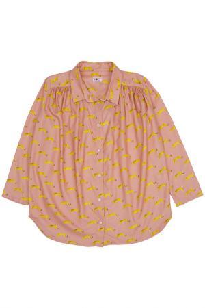 Блузка MORLEY. Цвет: розовый