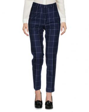 Повседневные брюки MALO. Цвет: темно-синий