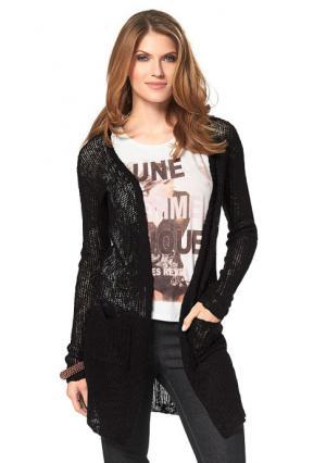 Кардиган Aniston. Цвет: черный