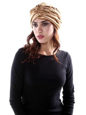 Чалма-шапочка SEANNA. Цвет: золотистый