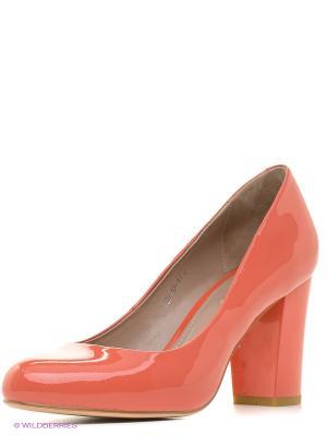 Туфли EL ROSSO. Цвет: оранжевый