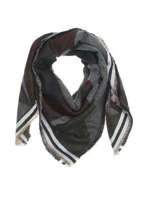 Платок Migura. Цвет: серый, бордовый, черный