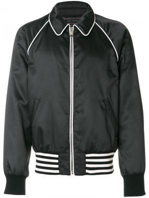 Куртка с косым воротником Marc Jacobs. Цвет: чёрный