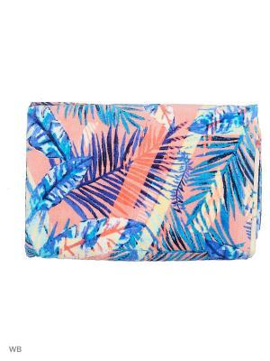 Полотенца пляжные ROXY. Цвет: синий, голубой, розовый