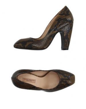 Туфли GAIA D'ESTE. Цвет: коричневый