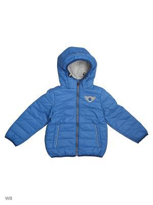 Куртка SELA. Цвет: голубой