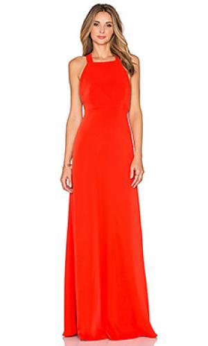 Вечернее платье JILL STUART. Цвет: мандариновый