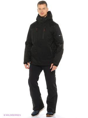 Куртка Stayer. Цвет: черный, красный