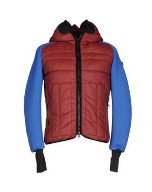 Куртка AI RIDERS ON THE STORM. Цвет: красно-коричневый
