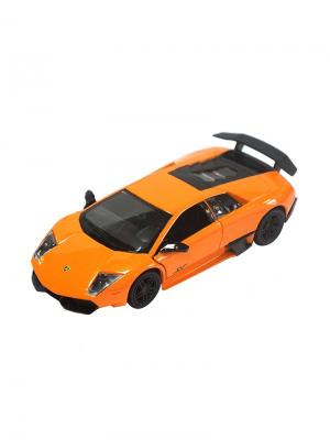 Машинка Инерционная Lamborghini Murcielago LP670-4, Оранжевая (1:32) (PS-554997-O) Pit Stop. Цвет: оранжевый