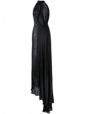 Вечернее платье Isabella Bianca Spender. Цвет: чёрный