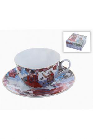 Чайный набор 2пр, 250 мл Polystar. Цвет: мультицвет