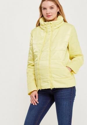Куртка утепленная Budumamoy. Цвет: желтый