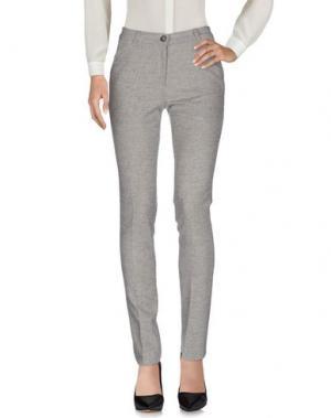 Повседневные брюки FEMÌ. Цвет: серый