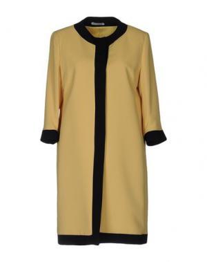 Легкое пальто HOPE COLLECTION. Цвет: желтый