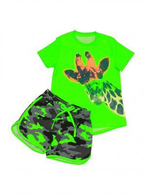 Комплект одежды SOFT SECRET. Цвет: зеленый