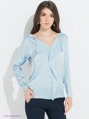 Блузка PINKO. Цвет: голубой