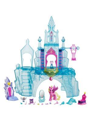 Игровой набор Кристальный замок Hasbro. Цвет: голубой