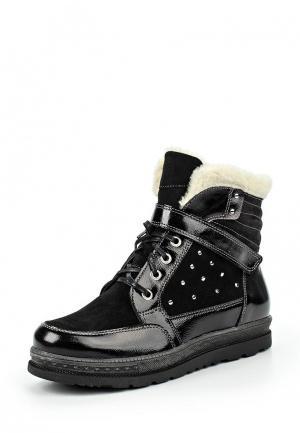 Ботинки Спартак. Цвет: черный