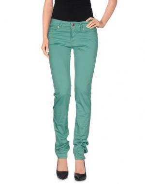 Повседневные брюки ROŸ ROGER'S. Цвет: светло-зеленый