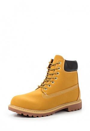 Ботинки Montefiori. Цвет: желтый