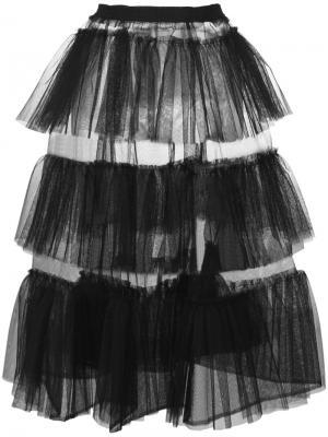 Tessa skirt Molly Goddard. Цвет: чёрный