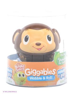 Развивающая игрушка Хохотунчики BRIGHT STARTS. Цвет: коричневый