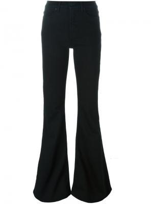 Расклешенные джинсы Off-White. Цвет: чёрный