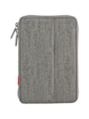 Чехол для планшета Tablet purse uni 10.1 на молнии Defender. Цвет: серый