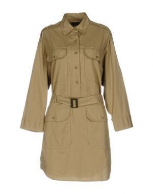 Короткое платье NLST. Цвет: песочный