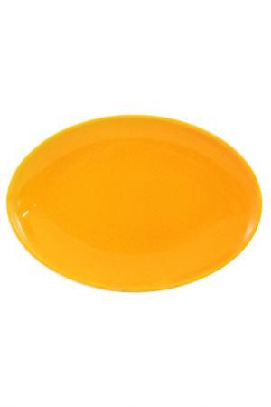 Тарелка овальная 27 см Waechtersbacher. Цвет: желтый