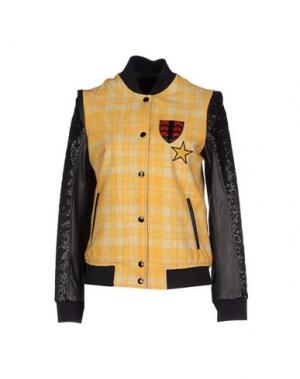 Куртка TRE CINQUE SETTE. Цвет: охра