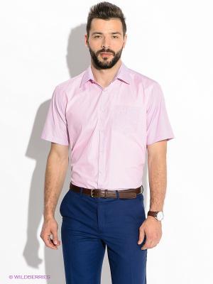 Рубашка Hans Grubber. Цвет: розовый