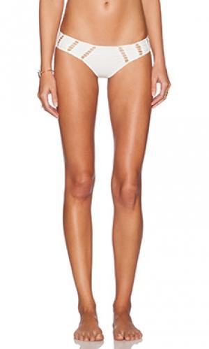 Низ бикини chuns Acacia Swimwear. Цвет: белый