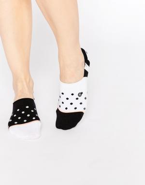 Stance Невидимые носки Downtown. Цвет: черный