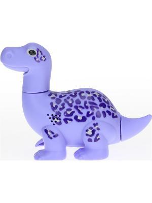 Динозавр Max, фиолетовый Silverlit. Цвет: фиолетовый