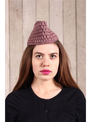 Шляпа EMMY. Цвет: бордовый