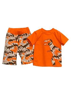 Комплект  одежды Baby Boom. Цвет: оранжевый